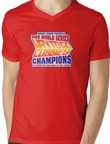 Chicago Cubs World Series Champions - Back to the Future  Mens V-Neck T-Shirt
