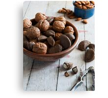 Nut Bowl Canvas Print