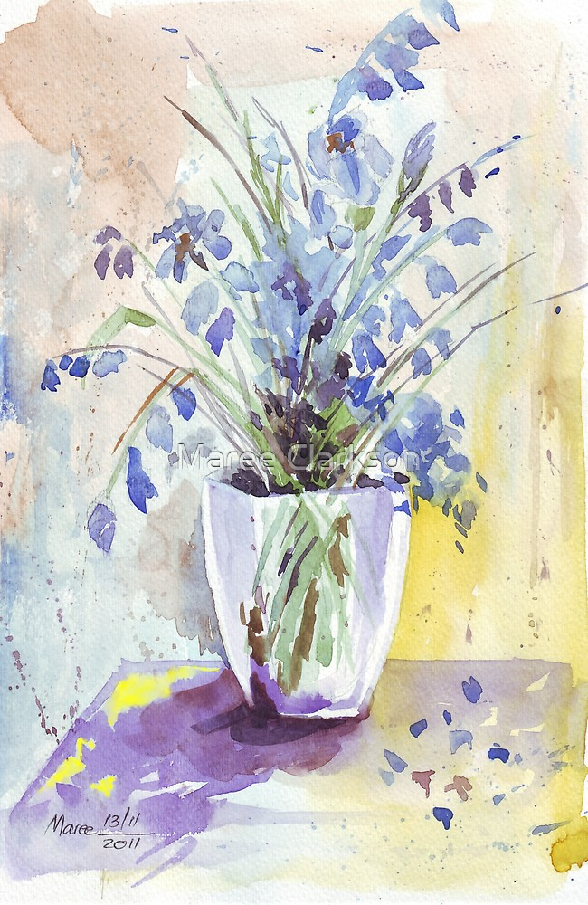 Bluebell eloquence by Maree  Clarkson