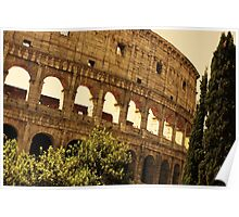 Ancient Colosseo Poster