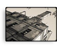 Boston building Canvas Print