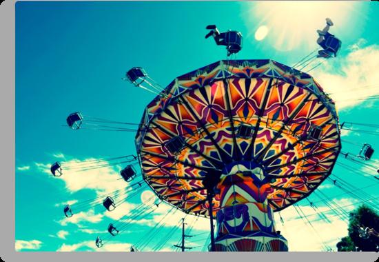 'Swinger' ride - Kalgoorlie Boulder Community Fair by Melissa Drummond