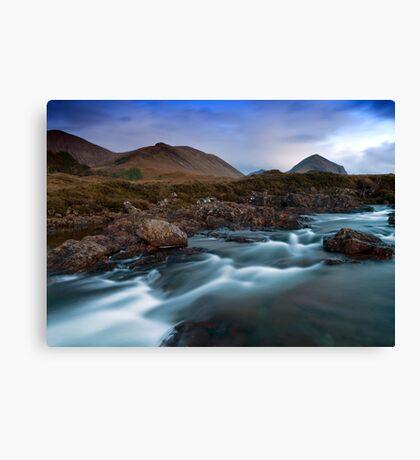 The River Sligachan Canvas Print