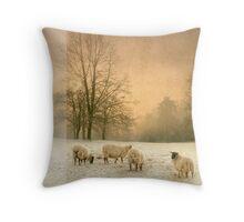Winter's eve Throw Pillow