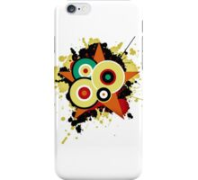 Stars and circles splash iPhone Case/Skin