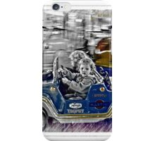 Alex.. her first driving lesson! iPhone Case/Skin