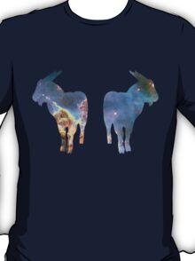 Nebula Celestial Goats shirt T-Shirt