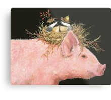 Livin' High on the Hog (with Livingston, Chuck and Dee) Metal Print