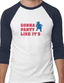 Chicago Cubs - Gonna Party like it's 1908 Men's Baseball ¾ T-Shirt
