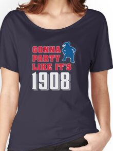 Chicago Cubs - Gonna Party like it's 1908 Women's Relaxed Fit T-Shirt