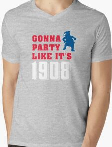 Chicago Cubs - Gonna Party like it's 1908 Mens V-Neck T-Shirt
