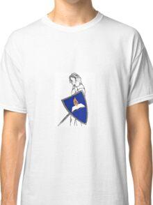 Fan Fiction Warrior - Blue Shield Swag Classic T-Shirt