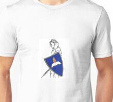 Fan Fiction Warrior - Blue Shield Swag Unisex T-Shirt