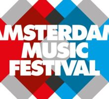 Amsterdam Music Festival apparel Sticker