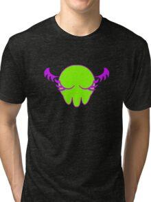 Chibi/Girly Cthulu Tri-blend T-Shirt