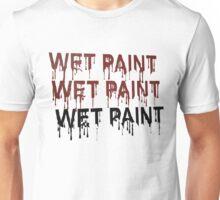 Wet paint dripping Unisex T-Shirt