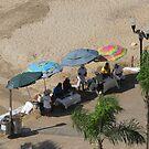 Selling oysters at the Malecón/Olas Altas/Puerto Vallarta by PtoVallartaMex