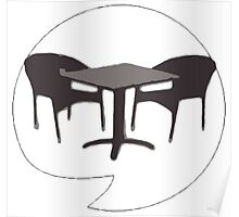 Heavy Metal Chairs Poster