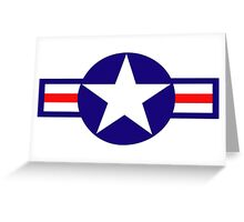 Aviation - US Army - Cool Star Greeting Card