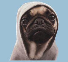 COOL PUG DOG - HIP HOP STYLE Kids Clothes