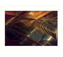 Streets of Desires #1 Art Print