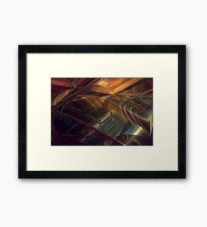 Streets of Desires #1 Framed Print