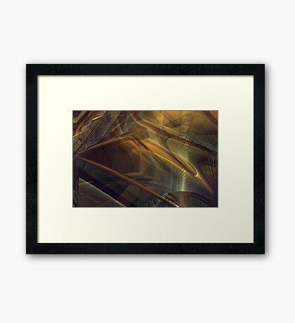 Streets of Desires #2 Framed Print