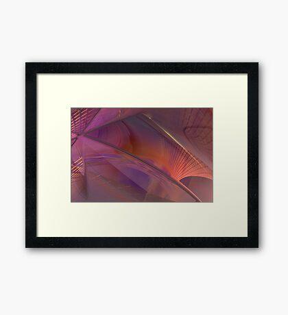 Streets of Desires #3 Framed Print