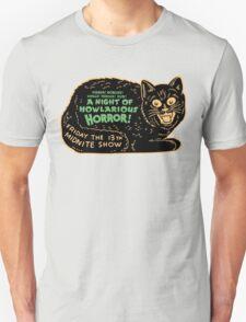 Vintage Halloween Black Cat T-Shirt