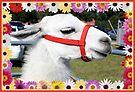 Nellie the Llama by AuntDot