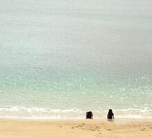 Sandy Beach - Cornwall - UK by Ken1
