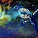 Wild jay fantasy by zzsuzsa