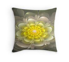 3d Bloom 2 Throw Pillow