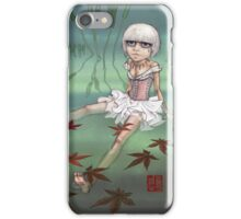 the frog princess iPhone Case/Skin
