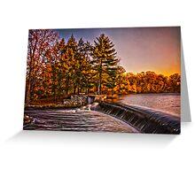 River Falls Greeting Card