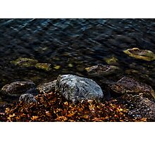 Under These Rocks and Stones Photographic Print