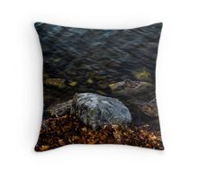 Under These Rocks and Stones Throw Pillow