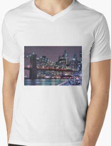 Lower East Side, Manhattan Mens V-Neck T-Shirt