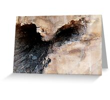 Wooden Portrait #2 Greeting Card