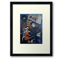 Artnapping III: Capture by Tango Framed Print
