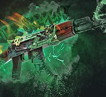Ak-47 | Fire Serpent by Gamers