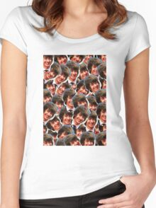 Happy Alex Turner Women's Fitted Scoop T-Shirt