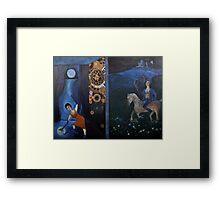 Artnap IV: Selenomancy/ Selenography Framed Print