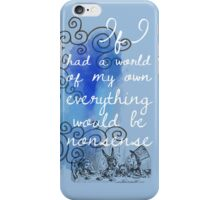 Alice in Wonderland iPhone Case iPhone Case/Skin