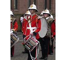 Cadets Brass band Photographic Print
