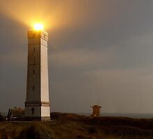 Blaavandshuk Lighthouse by Steen Nielsen