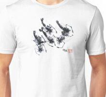 Sumi-e Shrimps represent Abundance! Unisex T-Shirt