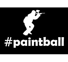 PAINTBALL Photographic Print
