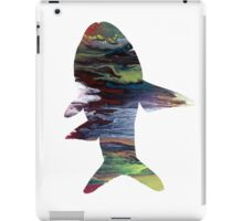 Fish silhouette iPad Case/Skin