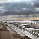 Sunrays on the Beach. by Lilian Marshall